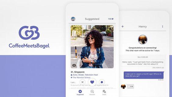 Coffee Meets Bagel Login Coffee Meets Bagel Dating In 2020 Coffee Meets Bagel Popular Dating Apps Mobile Dating