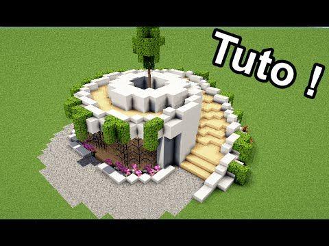 Minecraft Tuto Comment Faire Une Maison Moderne En Spirale Youtube Minecraft Crafts Minecraft Creations Minecraft Designs