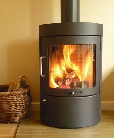 wood burning stove - we bought this Hwam stove and love it!