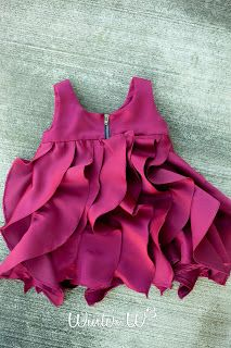 Love this ruffle dress, but normal waist instead of empire. This is the tutorial to approximate the J Crew dress!