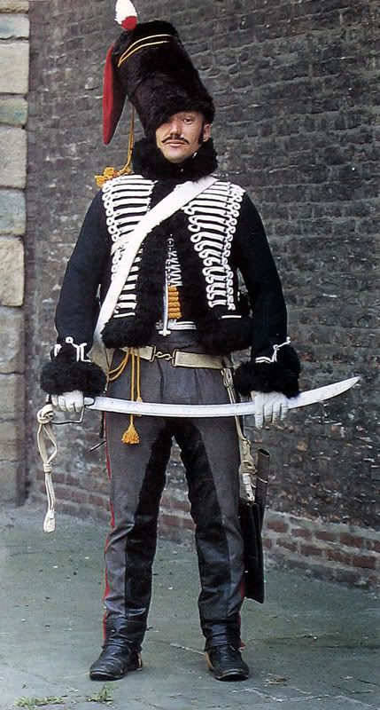 Hussards de la mort, France, 1792