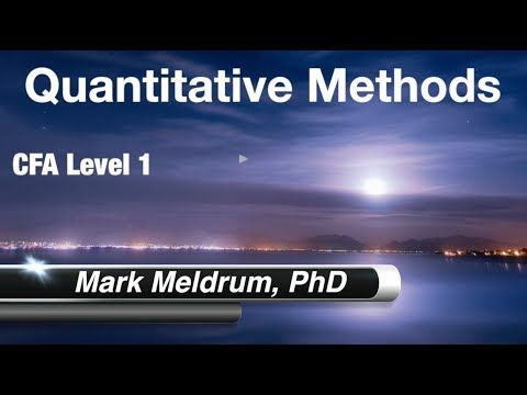 28.  CFA Level 1 Quantitative Methods Probability Concpets LO5 to LO8 Pa...