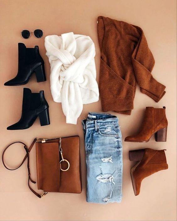 50 idee di abiti invernali chic da copiare subito... #Abiti #chic #copiare #idee #invernali #subito
