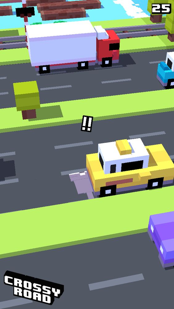 25 on #crossyroad. My top is 48.