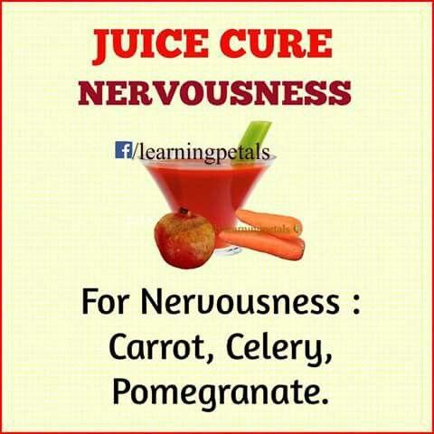 Cures nervousness