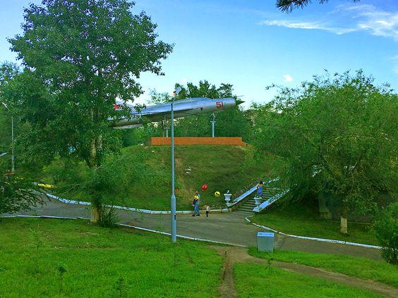 Миг 24 - экспонат парка ОДОРА, г. Чита. Фото: Evgenia Shveda