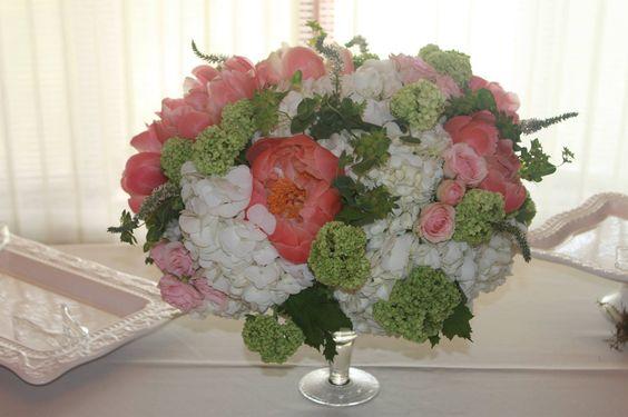 Garden Wedding Flowers Pink Peony Flowers KP Event Design Kansas City