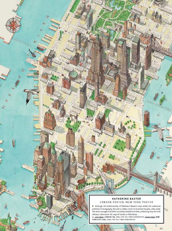 Femme Fatales of Cartography – Street Maps of New York City