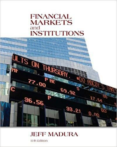 Financial Markets And Institutions 11th Edition Pdf Version