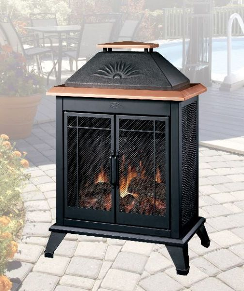 6 Fascinating Electric Outdoor Fireplaces Photograph Ideas