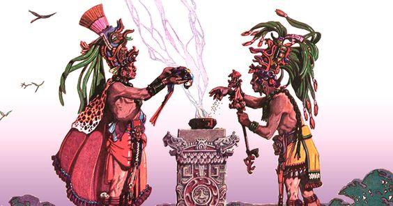 El Copal y su magia divina  Mediador entre el cielo y la tierra, entre la…