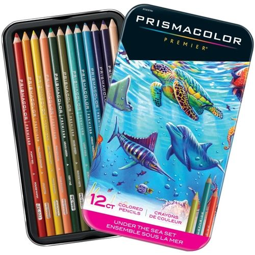 Prismacolor Under The Sea Colored Pencil Set Of 12 2023751