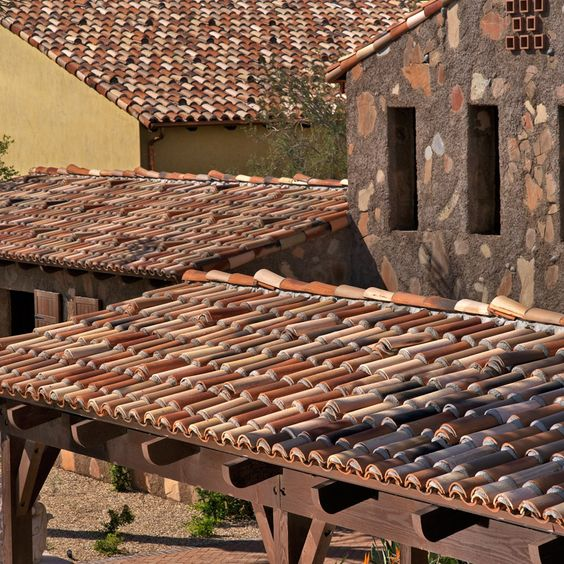 Boral roofing clay tile cielo custom blend embracing for Spanish clay tile roof