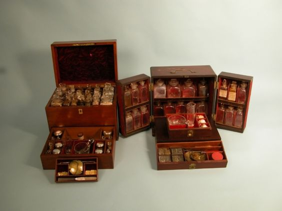 early British medicine chests