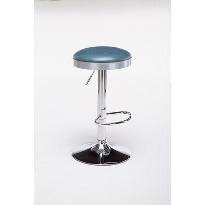 Ferranti Adjustable Height Swivel Bar Stool Swivel Bar Stools