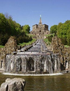 Bergpark Wilhelmshöhe, Herkules und Wasserspiele ©MHK, Arno Hensmanns