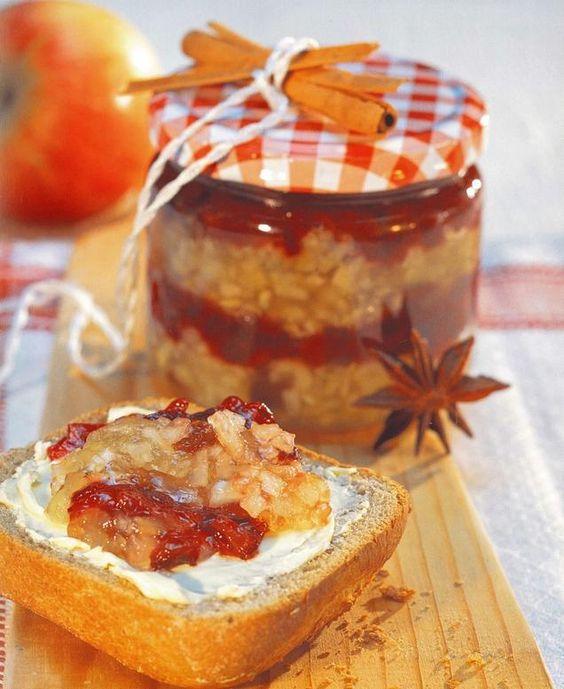 Pommes, poires, prunes et juste ce qu'il faut d'épices...Une confiture élaborée…