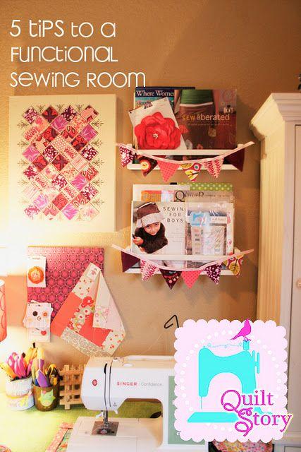 A Little Bit Biased: Sew Inspiring Rooms