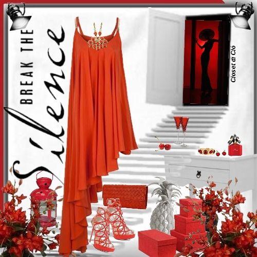 Closet di Cló para - Desafio das cores - Vermelho