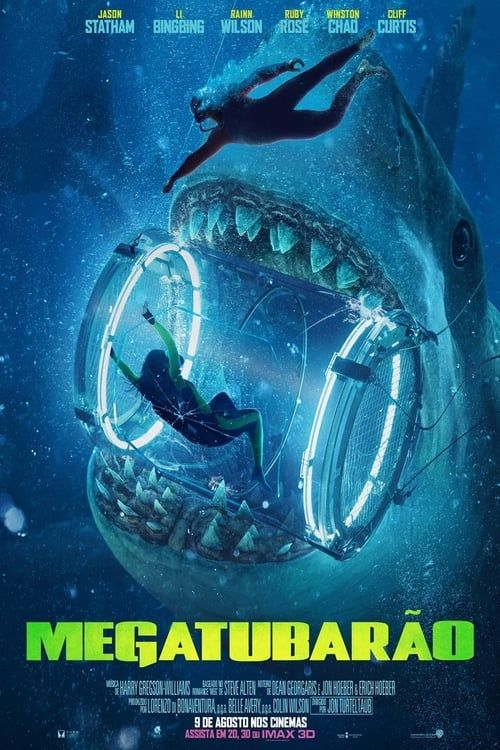 The Meg 2018 Full Movie Download Meg Movie Megalodon Movie Jason Statham Movies