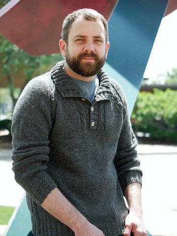 Knitspot: Gearhead. Unisex sweater. $