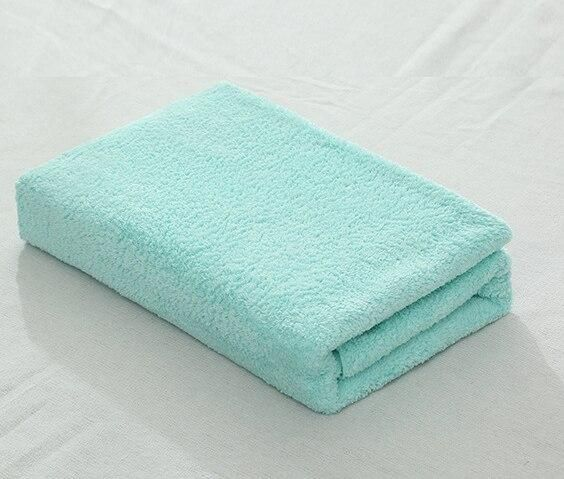 Microfiber Solid Bath Towel Beach Towel For Adults Fast Drying