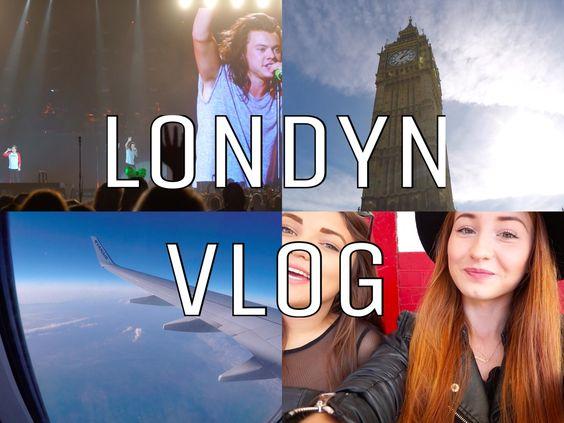 VLOG: LONDYN | KONCERT ONE DIRECTION