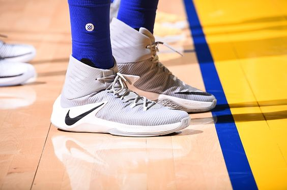 Nike Zoom Clear Out OAKLAND, CA - OCTOBER 25: The sneakers of Draymond Green #23 of the Golden State Warriors during the game against the San Antonio Spurs on October 25, 2016 at ORACLE Arena in Oakland, California.