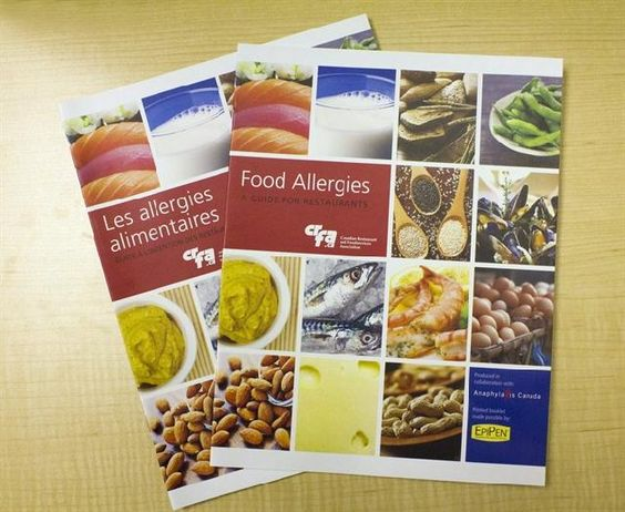 A new guide for restaurateurs aims to create a safer environment for diners by having a better understanding of food allergies. #allergies #foodallergies #restaurants #foodallergyguide #anaphylaxis #canada #health #healthguide