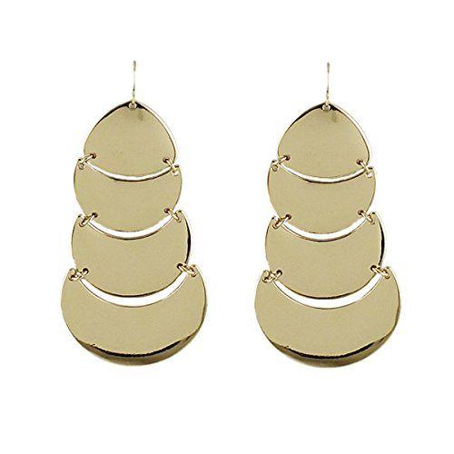 2014 Sommer Fashion Gold Aushöhlen Rheinstein Sensible Hängenden Luxuriös Ohrringe | Your #1 Source for Jewelry and Accessories