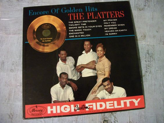 1960 The Platters  Encore of Golden Hits Album 33 by Booth58
