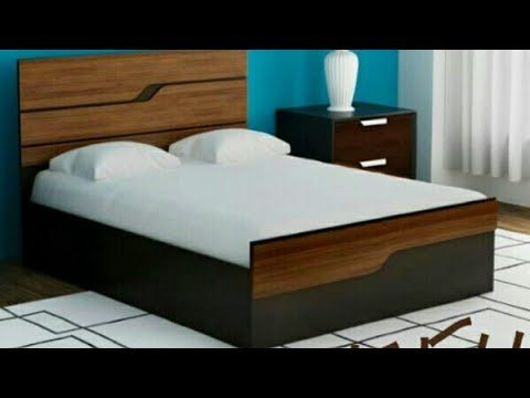 Wooden Double Bed Designs Indian Furniture Catalogue Modern
