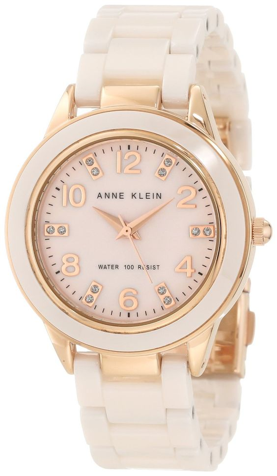 Anne Klein Women's 10/9344RGLP Ceramic Rose-Tone and Light Pink Ceramic Watch  ---  Price : $105.71   ----   Total Reviews : 14 -> http://girlwardrobe.com/?post_type=product&p=2389