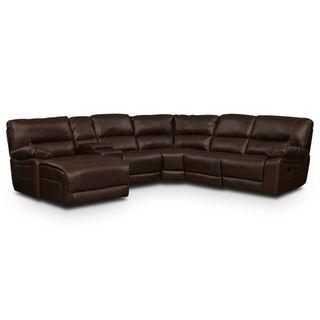 Wyoming Godiva 3 Pc. Reclining Sectional   Value City Furniture