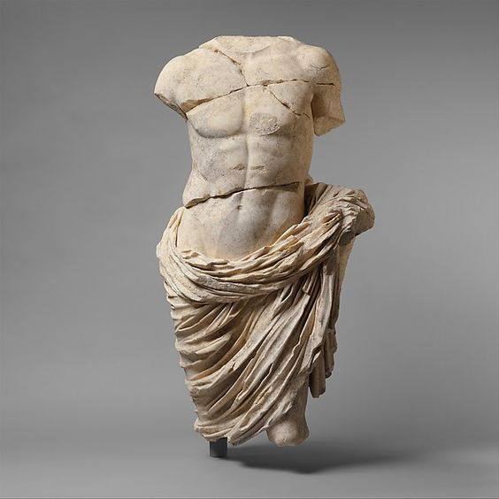 Roman / Marble statue of a member of the imperial family