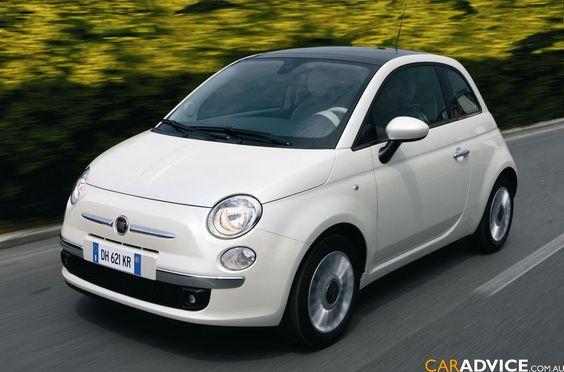 White FIAT 500 Pop - DREAM CAR