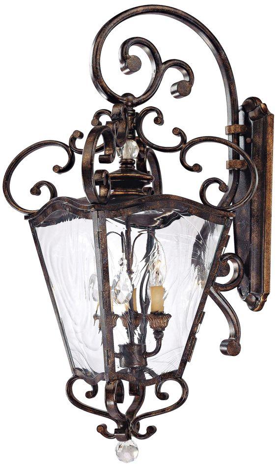 """Metropolitan Collection 31 3/4"""" High Outdoor Wall Lantern -"""
