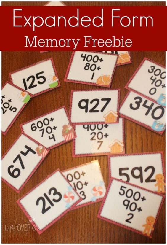 Modo de ver si los niños entienden el sistema de numeración decimal