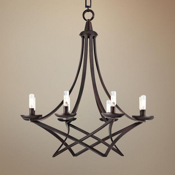 Savoy House Windsung 8-Light English Bronze Chandelier