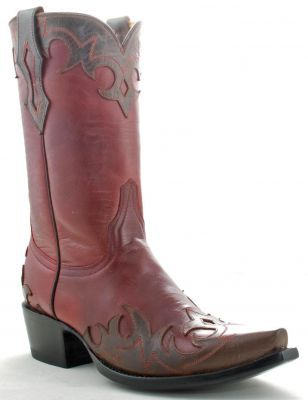 Yippee Ki Yay Emily Boots, Chocolate, Red.  These are on my wish list.