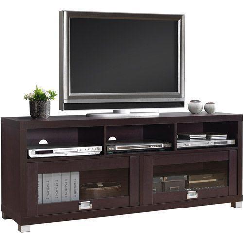 Modern Tv Storage Cabinet For Tvs Up To 65 Espresso Entertainment Media Center Moderntvstorage Epipla