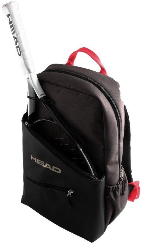 Head Women S Tennis Backpack Grey Red 79 95 Tennis Backpack Backpacks Tennis Bags
