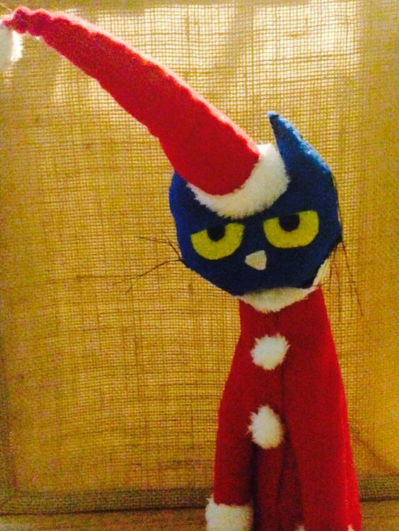 Pete the cat saves Christmas I made