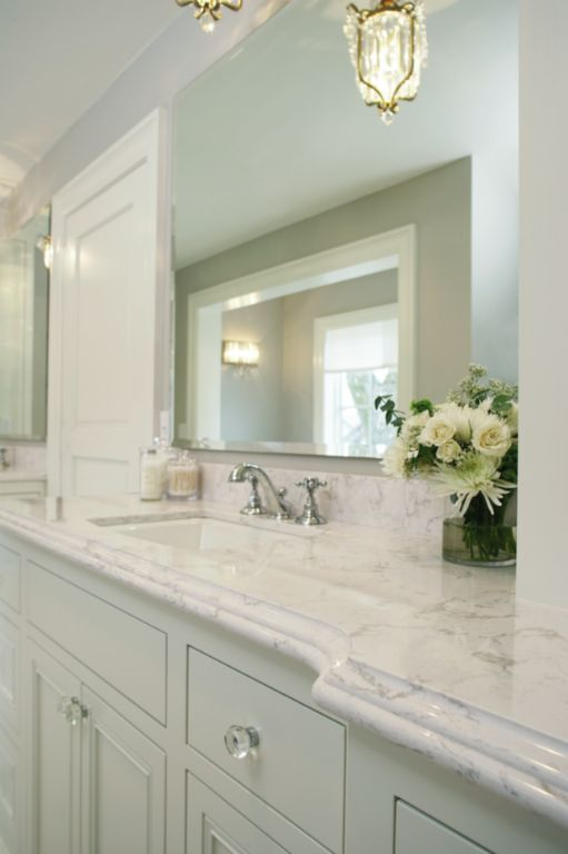 Master bath counters home pinterest colors google for Master bathroom countertops