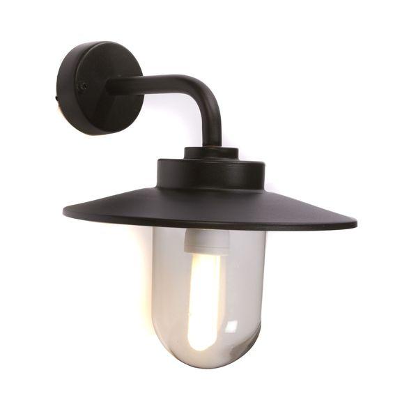 applique d 39 ext rieur noir austin les bornes et appliques le luminaire de jardin jardin. Black Bedroom Furniture Sets. Home Design Ideas