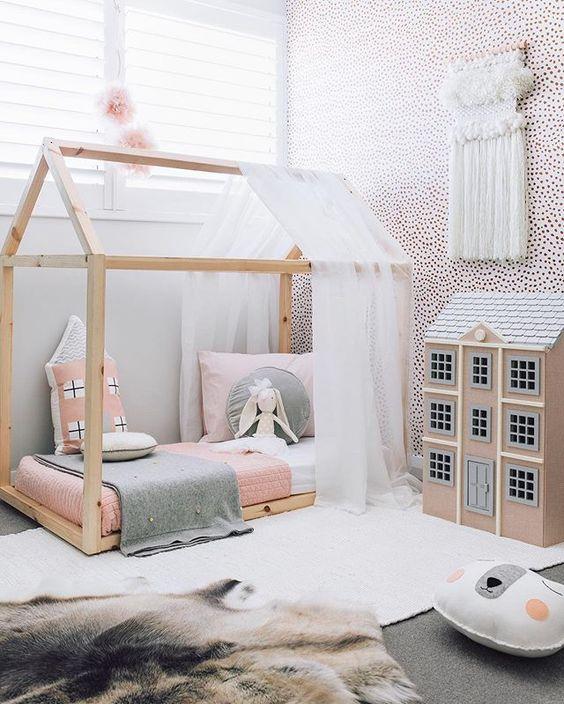 Decorar con tapices de lana las habitaciones infantiles - Habitaciones infantiles decoracion paredes ...