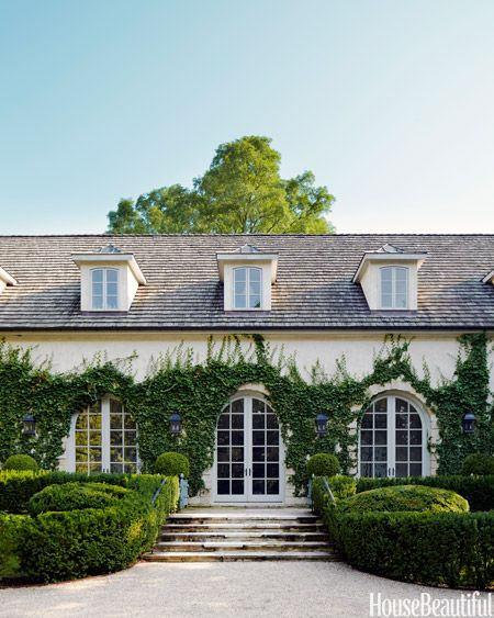 Landscape architects house exteriors and french style on for Classic home exteriors