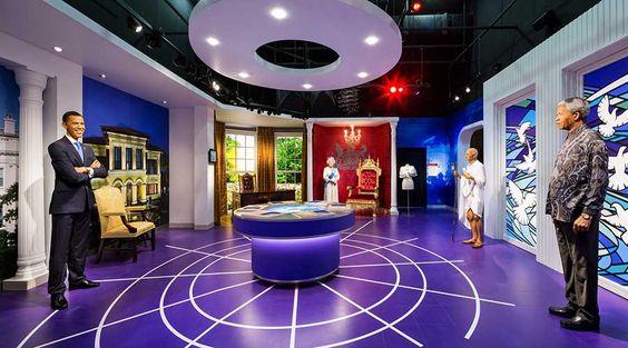 Bảo tàng tượng sáp Madame Tussaud được sáng lập bởi nhà điêu khắc nữ người Pháp Marie Tussaud