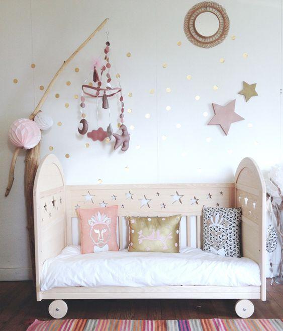 Cunas/Cribs #habitacionbebe #nursery
