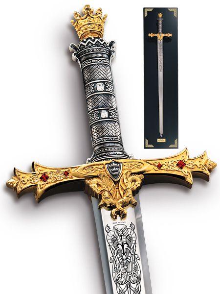 image detail for collector 39 s king arthur 39 s excalibur swords weapons swords and stuff. Black Bedroom Furniture Sets. Home Design Ideas